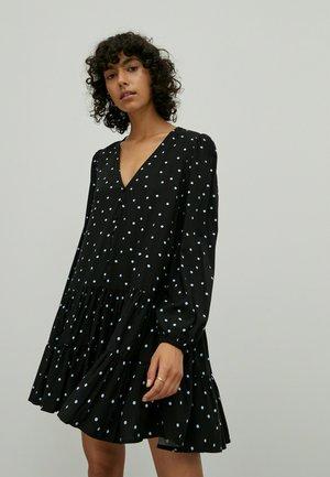 EILEEN - Jersey dress - schwarz