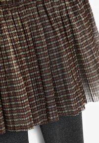 Next - A-line skirt - gold-coloured - 2