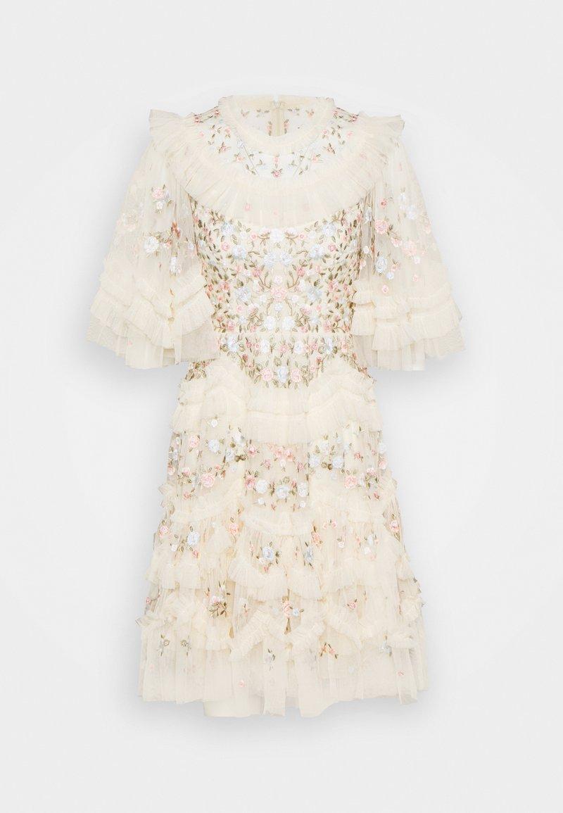 Needle & Thread - LALABELLE MINI DRESS - Koktejlové šaty/ šaty na párty - champagne
