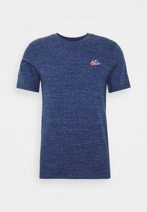 Basic T-shirt - midnight navy