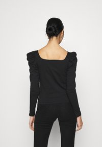 ONLY - ONLEMMA HEART - Long sleeved top - black - 2
