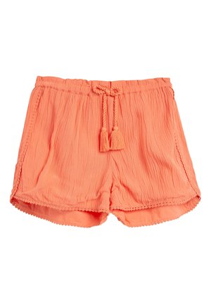 BLACK TRIM DETAIL - Shorts - orange