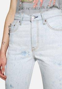 Levi's® - 501 CROP - Jeans straight leg - scribble down lb - 4