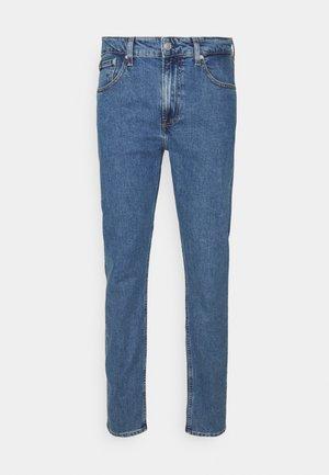 SLIM TAPER - Slim fit jeans - blue