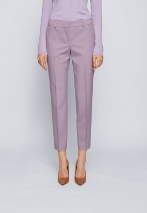 Trousers - light purple