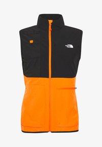 The North Face - MENS VARUNA VEST - Waistcoat - flame orange - 4