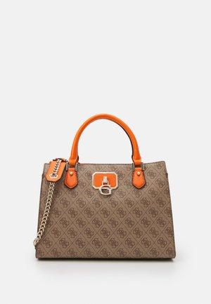 ALISA GIRLFRIEND SATCHEL - Handbag - latte orange