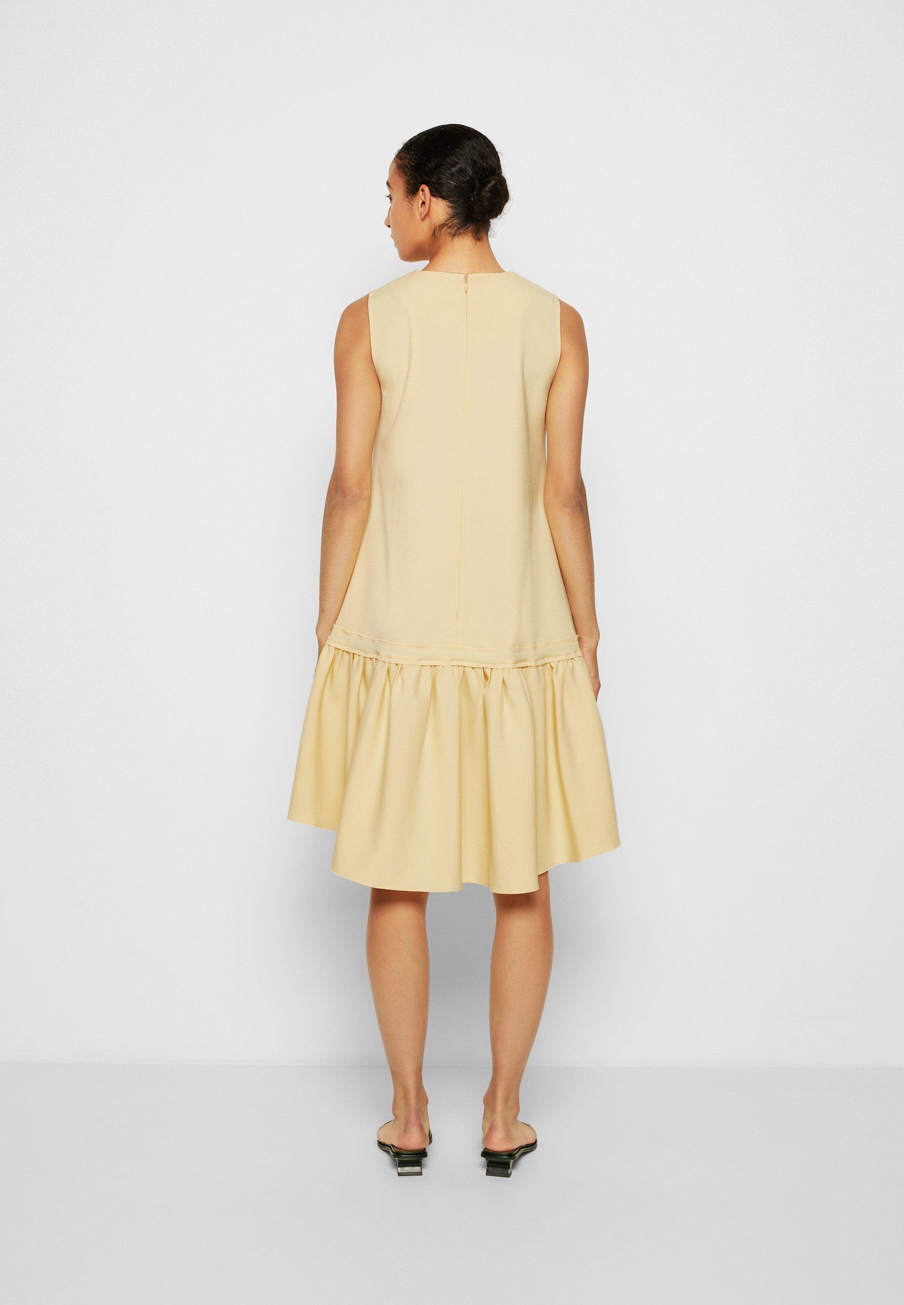 Women FLOUNCE HEM SHIFT DRESS - Cocktail dress / Party dress
