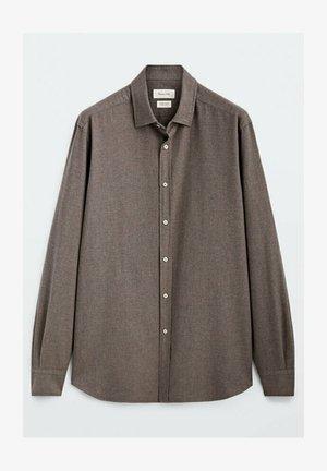 SLIM-FIT - Formal shirt - ochre