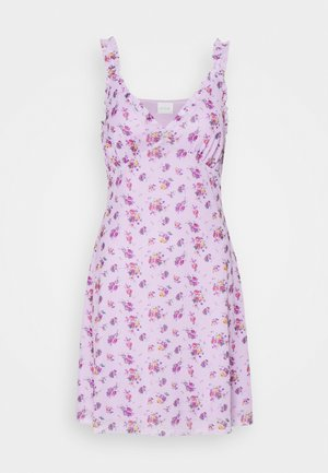 VIPASSA STRAP SHORT DRESS - Day dress - lavender