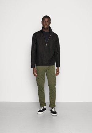 2 PACK - Long sleeved top - black