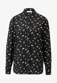 IVY & OAK - MIT FLORALEM PRINT - Button-down blouse - black - 4