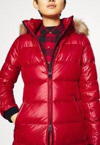 Calvin Klein - ESSENTIAL REAL COAT - Down coat - tango red - 10