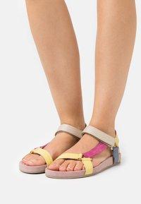 Copenhagen Shoes - PEACE - Sandals - rosa/multicolor - 0