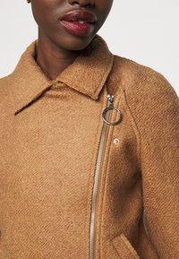 ONLY Tall - ONLASHA BIKER - Summer jacket - toasted coconut - 5