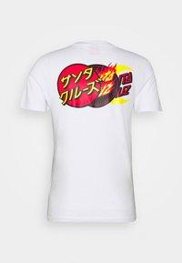 Santa Cruz - UNISEX DOT GROUP - Print T-shirt - white - 1