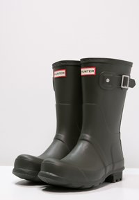 Hunter ORIGINAL - ORIGINAL SHORT - Wellies - dark olive