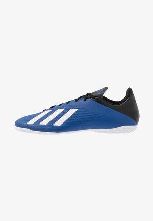 X 19.4 IN - Zaalvoetbalschoenen - royal blue/footwear white/core black