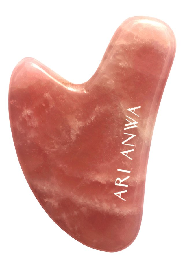 GUA SHA ROSENQUARZ - Skincare tool - -