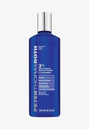 3% GLYCOLIC SOLUTIONS CLEANSER - Cleanser - -