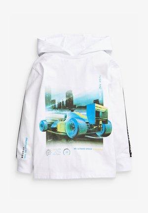 RACING CAR  - Mikina skapucí - white