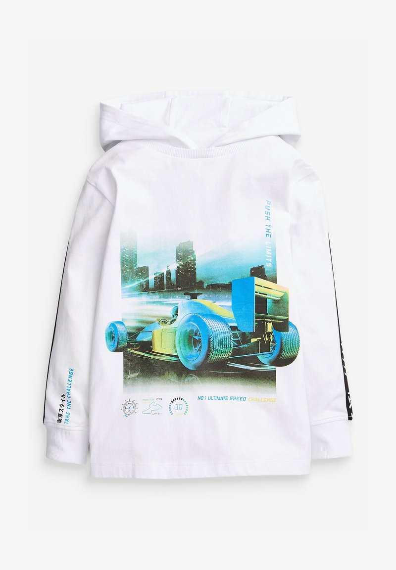 Next - RACING CAR  - Hoodie - white