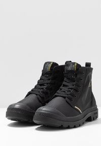 Palladium - PAMPA LITE+ WP+ UNISEX - Lace-up ankle boots - black - 2