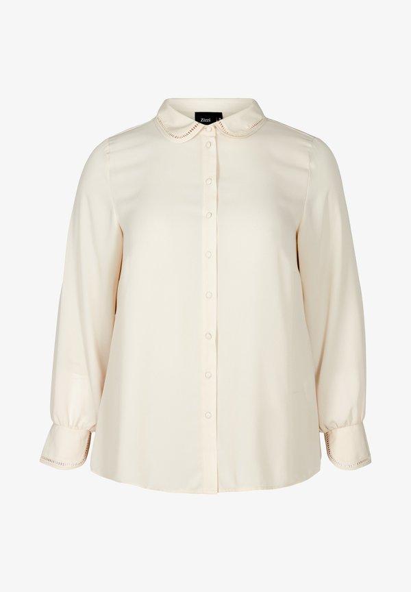 Zizzi Koszula - beige/beżowy AJMC
