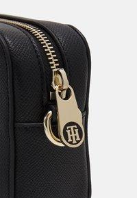 Tommy Hilfiger - HONEY CAMERA BAG - Across body bag - black - 2