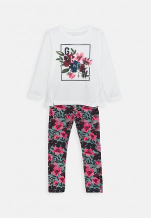 NMFNANULA BOX SET - Leggings - Trousers - snow white