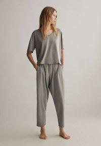 OYSHO - Pyjama top - grey - 1