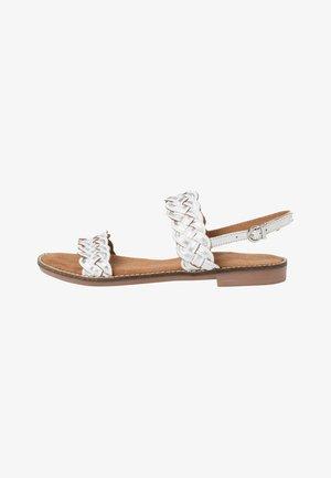 Sandals - white comb