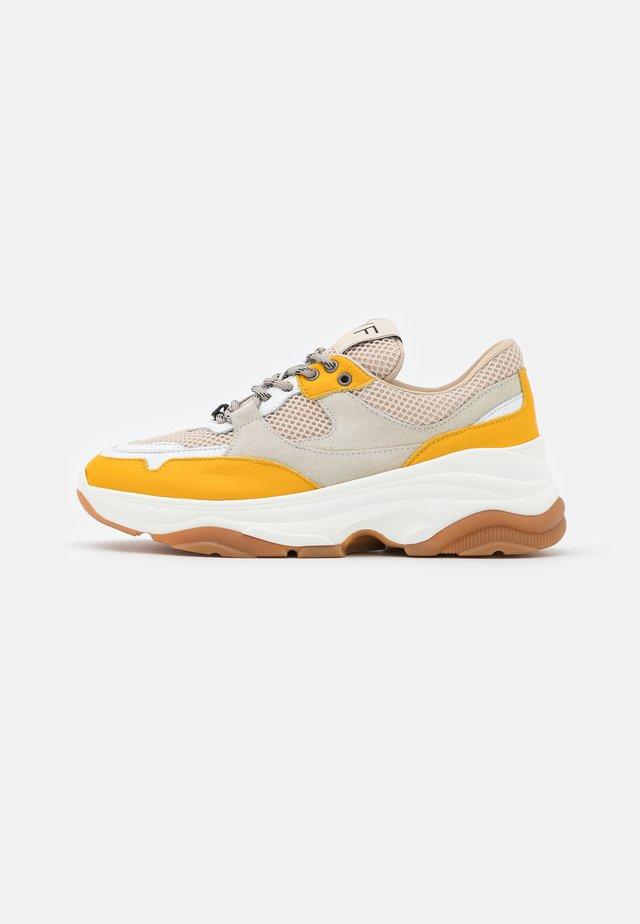 SLFGAVINA TRAINER - Sneakers laag - citrus