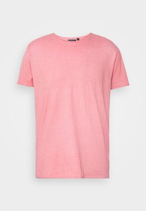 CONTO - Basic T-shirt - red burnout