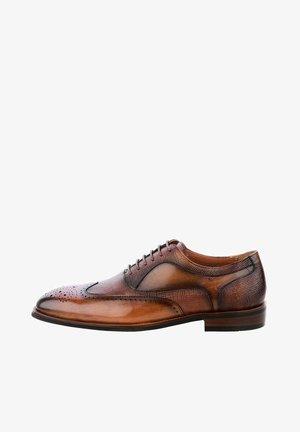 ALIENO  - Šněrovací boty - braun
