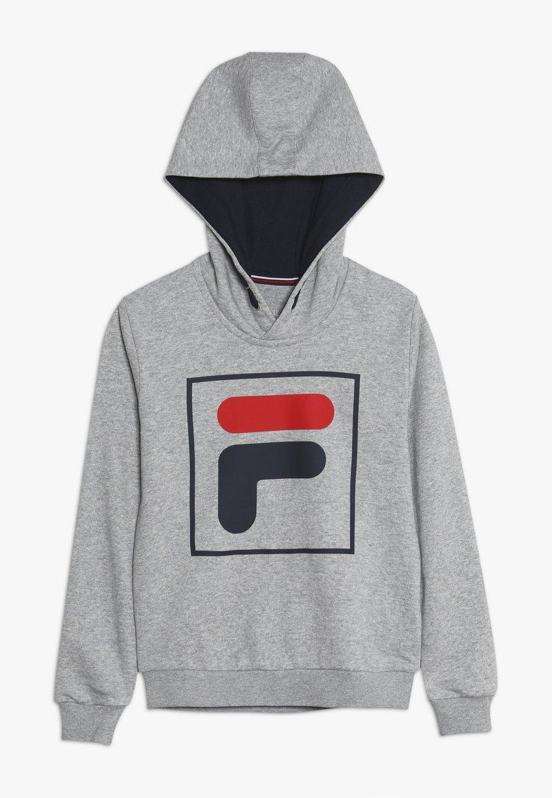 Fila - HARRY UNISEX - Hoodie - light grey melange