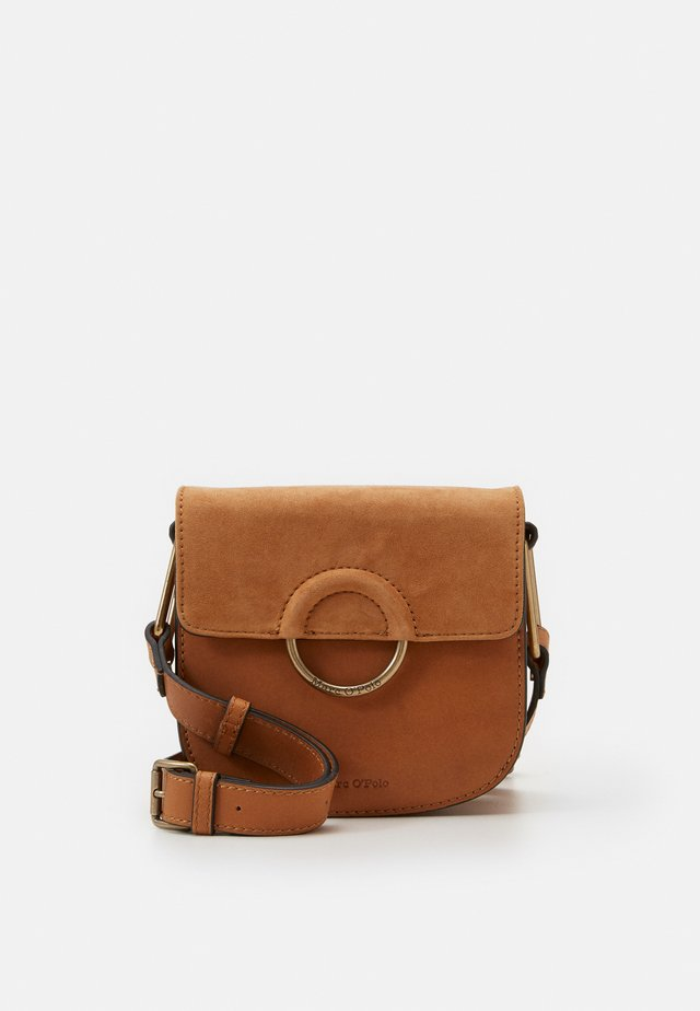 CROSSBODY BAG - Across body bag - true camel