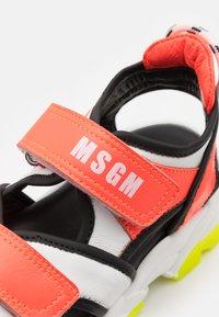MSGM - UNISEX - Sandals - white/orange - 5