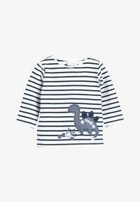 Next - BLUE 3 PACK DINOSAUR T-SHIRTS (0MTHS-3YRS) - Langærmede T-shirts - blue - 1
