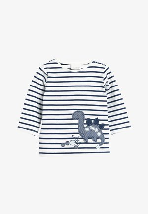 BLUE 3 PACK DINOSAUR T-SHIRTS (0MTHS-3YRS) - Top s dlouhým rukávem - blue