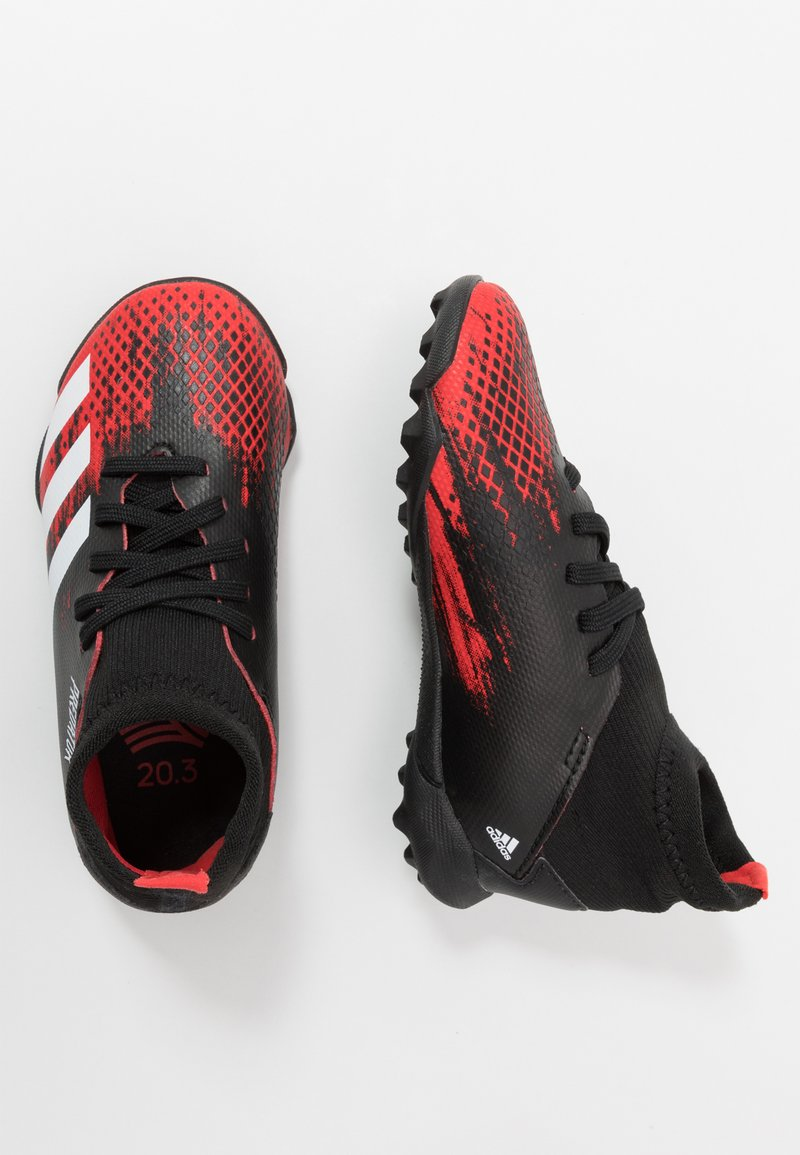 adidas Performance - PREDATOR 20.3 TF - Astro turf trainers - core black/footwear white/active red