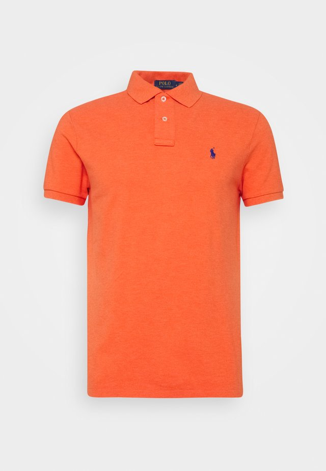 SHORT SLEEVE - Polo shirt - spring melon heather