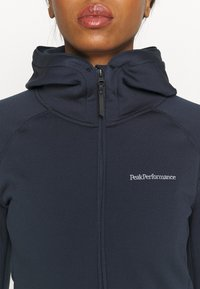 Peak Performance - CHILL ZIP HOOD - Fleece jacket - blue shadow - 4