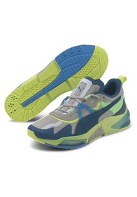 Puma - OPTIC PAX LQDCELL  - Sports shoes - gray violet-nrgy blue - 2