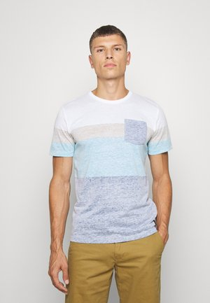 WITH INSIDE PRINT - T-shirts print - after dark blue