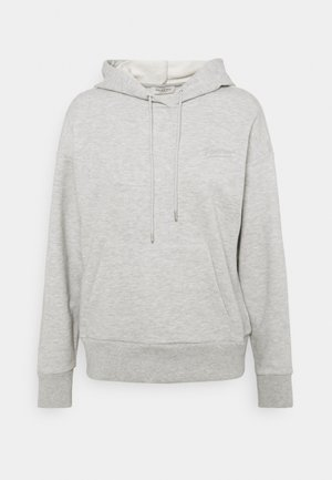 SLFARTISTA CAMILLE HOODIE - Jersey con capucha - light grey melange