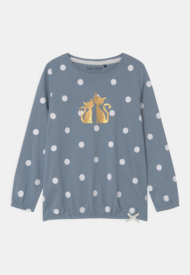 Blue Seven - KIDS GIRLS  - Long sleeved top - mittelblau