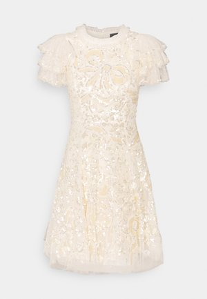 SHIRLEY RIBBON MINI DRESS - Cocktail dress / Party dress - champagne
