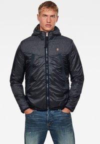 G-Star - SETCALE PADDED HOODED - Light jacket - mazarine blue - 0