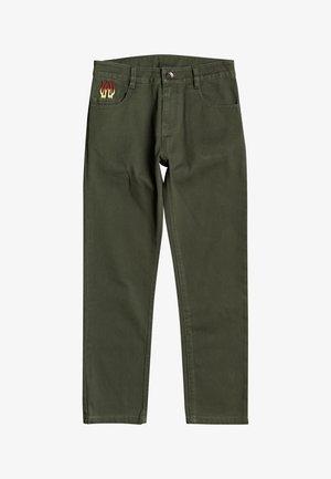 Pantalon classique - thyme